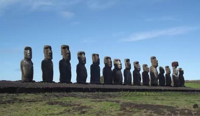 Estatuas Moai, Isla de Pascua