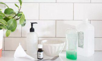 desinfectante para manos