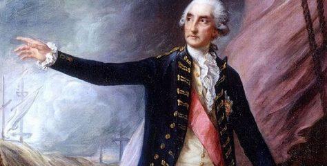 1. Barón George Brydges Rodney Biografía – Comandante Naval Inglés