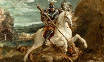 Quien es San Jorge? George de Lydda, era un soldado de origen griego de Capadocia
