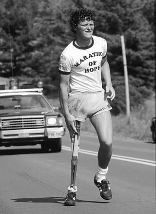 La inspiradora vida de Terry Fox - Atleta Canadiense y Humanitario