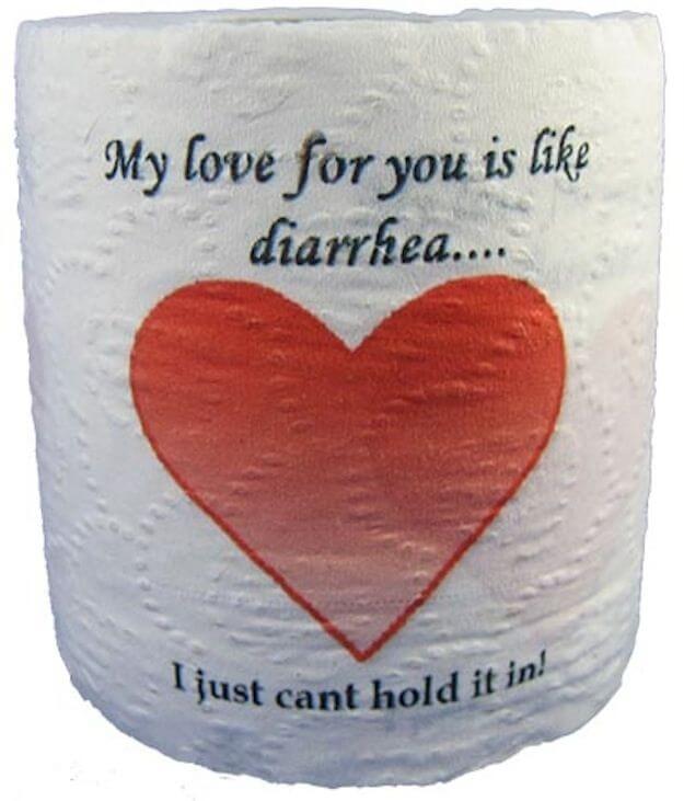 Regalos malos para el día de San Valentín (¿Ves a dónde voy con esto?)