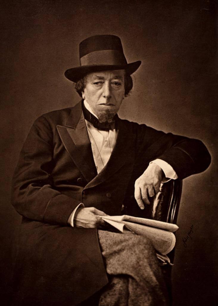 Historia de vida del primer conde de Beaconsfield (Benjamin Disraeli)