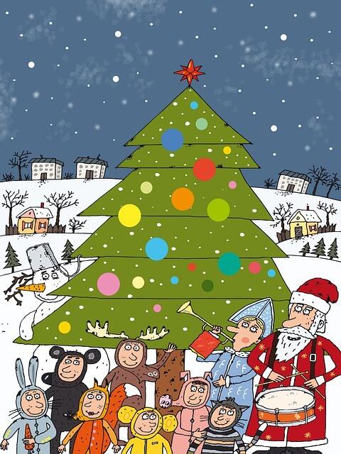 Mensaje de felicitación navideña para el personal de la guardería: deseos de agradecimiento