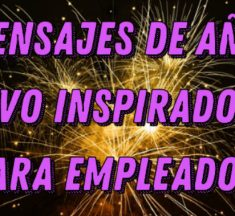 Mensajes de año nuevo inspiradores para empleados