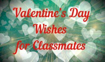 Deseos de San Valentín para compañeros de clase