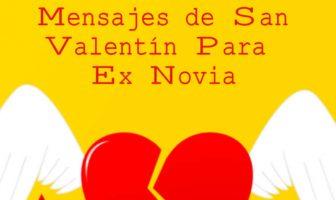 Mensajes de San Valentín para ex novia
