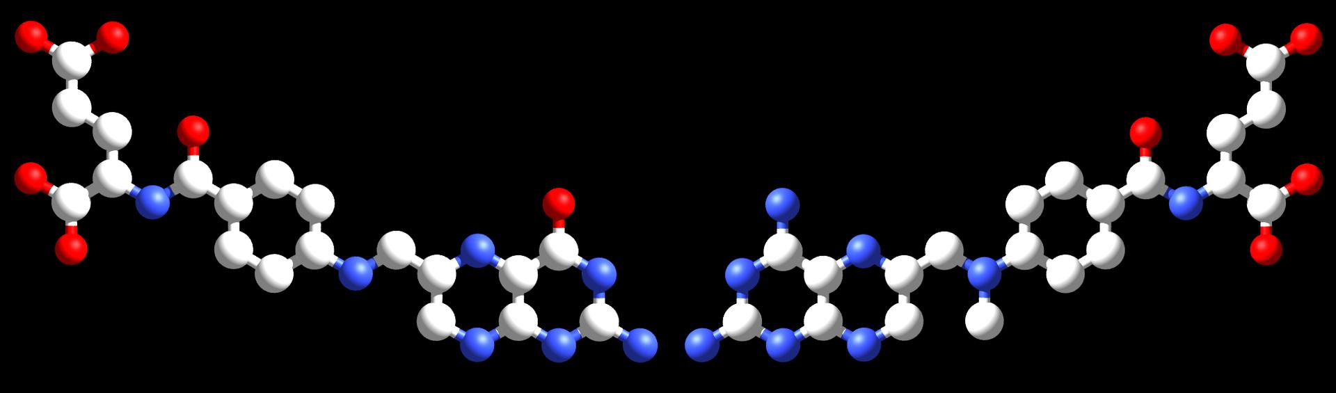 Metotrexato y ácido fólico comparados.