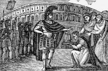 Belisario rechaza la corona ofrecida por los godos