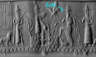 Datos del dios del agua sumerio Enki