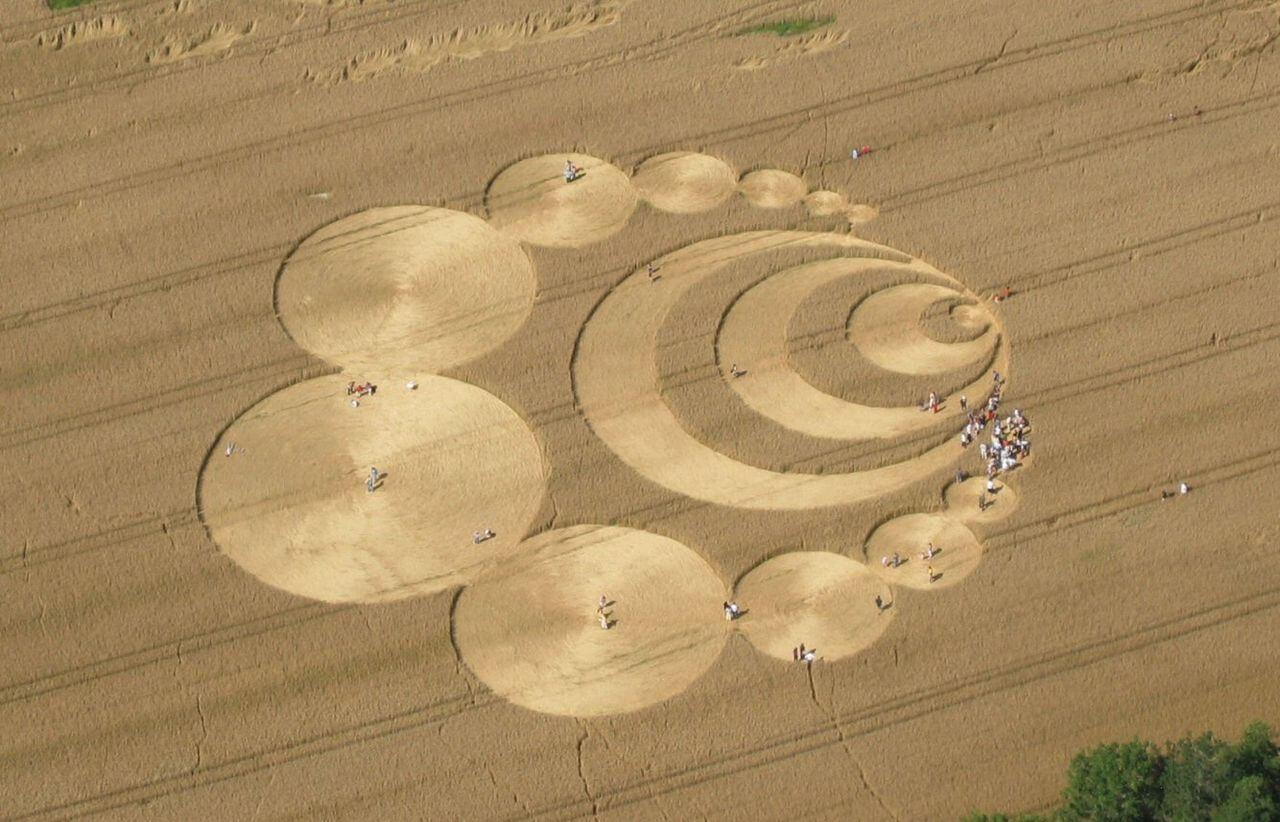 El misterio de los círculos de las cosechas que parecen obras de arte