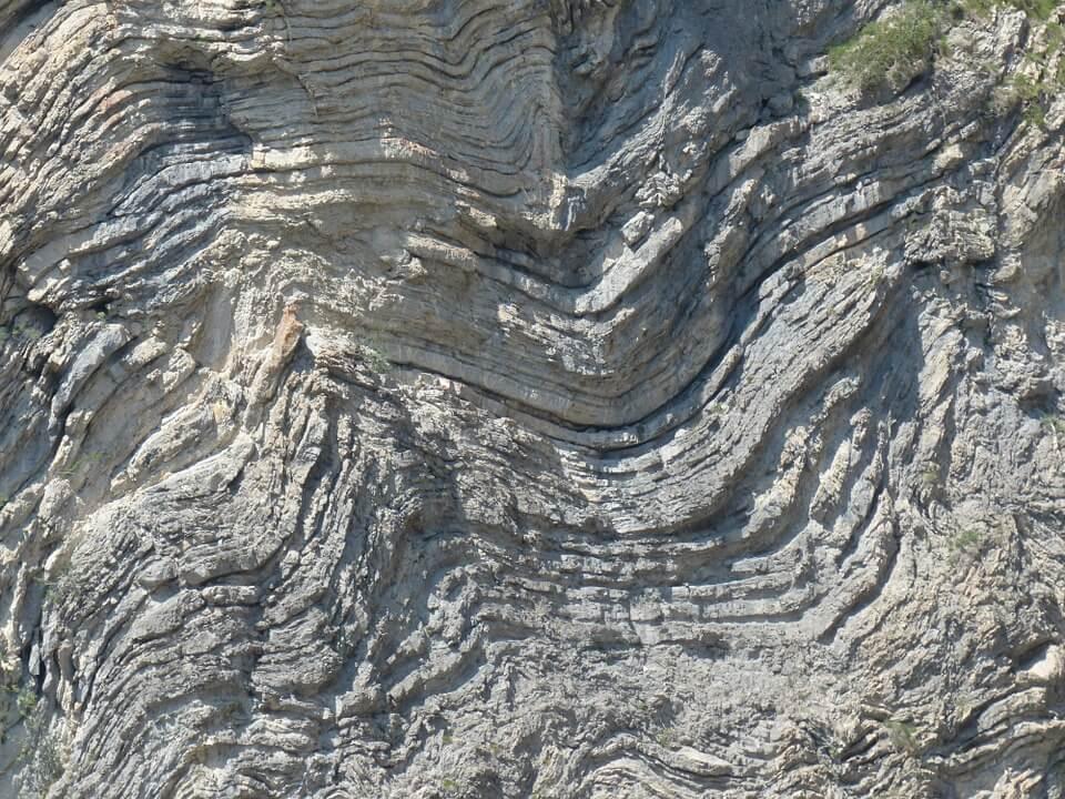 Formación y tipos de pliegues (geología)