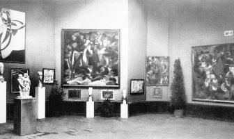 Salon d'Automne 1912, París, obras expuestas por Kupka, Modigliani, Csaky, Picabia, Metzinger, Le Fauconnier